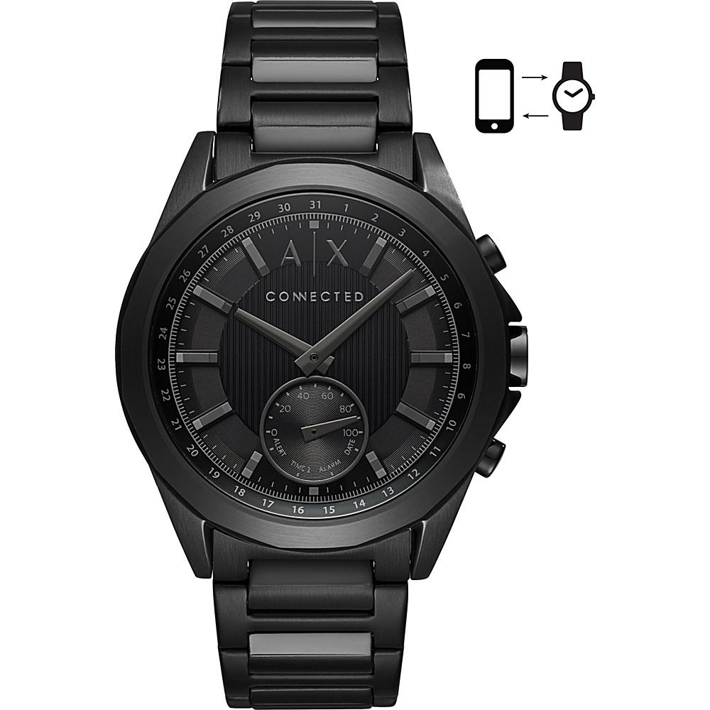 A/X Armani Exchange Men''s Hybrid Smartwatch Black - A/X Armani Exchange Wearable Technology