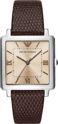 Emporio Armani Women's Dress Watch Brown - Emporio Armani Watches