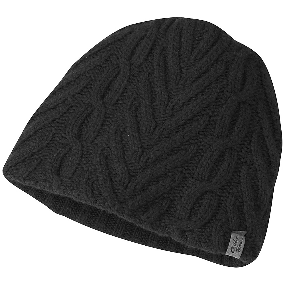 Outdoor Research Womens Jules Beanie One Size - Black - Outdoor Research Hats/Gloves/Scarves - Fashion Accessories, Hats/Gloves/Scarves