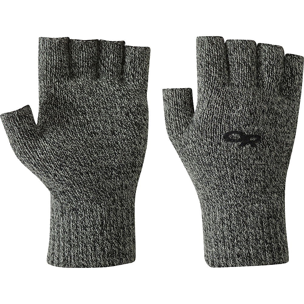 Outdoor Research Fairbanks Fingerless Gloves S/M - Charcoal - Outdoor Research Hats/Gloves/Scarves - Fashion Accessories, Hats/Gloves/Scarves