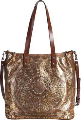 Old Trend Stars Align Crossbody Tote Gold - Old Trend Leather Handbags