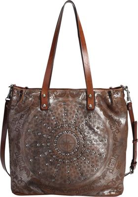 Old Trend Stars Align Crossbody Tote Silver - Old Trend Leather Handbags