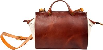 Old Trend Out West Satchel Brown - Old Trend Leather Handbags