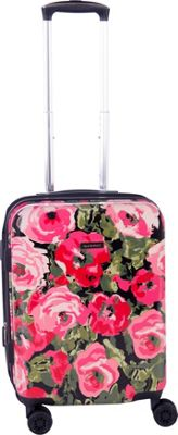 Isaac Mizrahi zzzzz Isaac Mizrahi zzzzz Inez 22 inch 8-Wheel Hardside Spinner Carry-On Luggage Black - Isaac Mizrahi zzzzz Hardside Carry-On