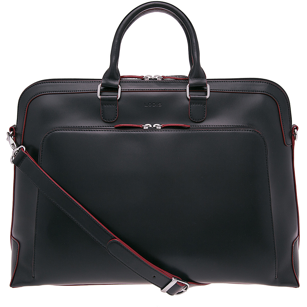 Lodis Audrey Brera Brief with Computer Compartment - Discontinued Colors Black - Lodis Non-Wheeled Business Cases - Work Bags & Briefcases, Non-Wheeled Business Cases