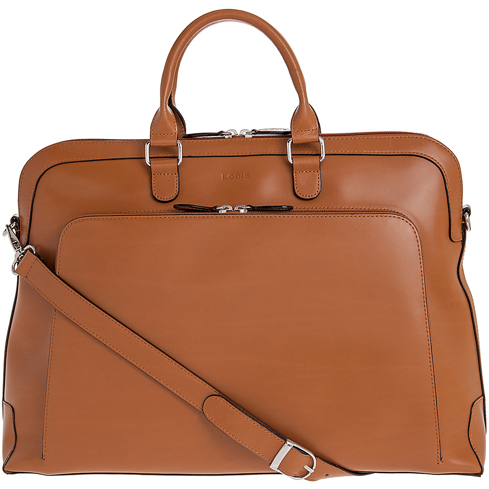 Lodis Audrey Brera Brief with Computer Compartment - Discontinued Colors Toffee - Lodis Non-Wheeled Business Cases - Work Bags & Briefcases, Non-Wheeled Business Cases