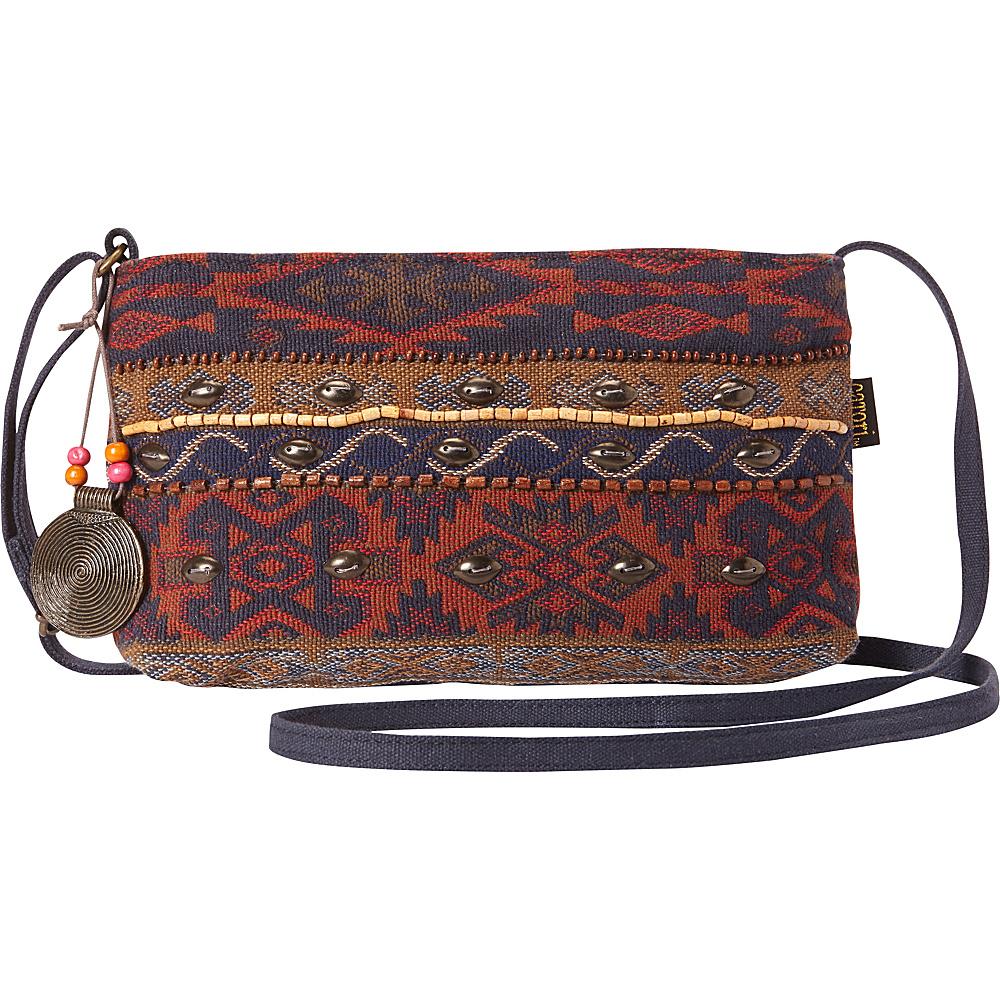 Sun N Sand Catori Komal E/W Crossbody Multi - Sun N Sand Fabric Handbags - Handbags, Fabric Handbags