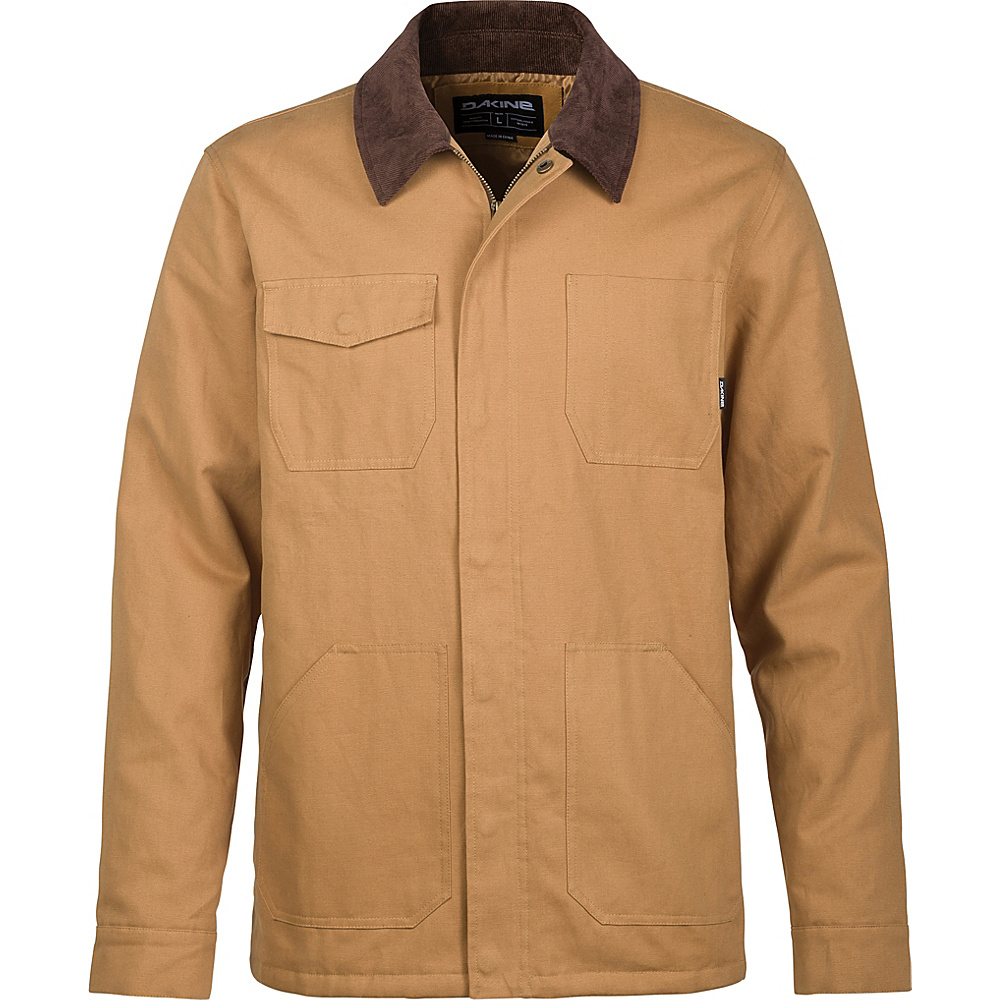 DAKINE Mens Allen Chore Jacket S - Buckskin - DAKINE Mens Apparel - Apparel & Footwear, Men's Apparel