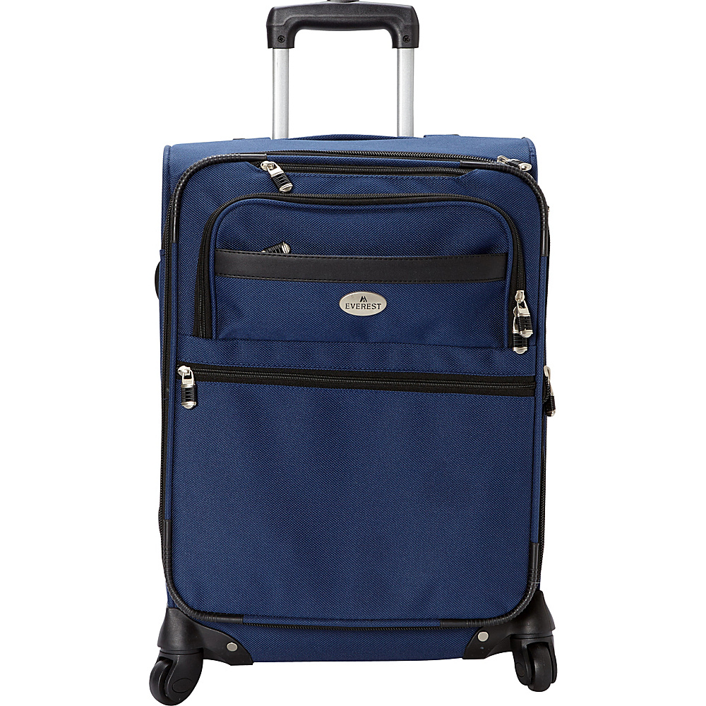 Everest 21 Expandable Carry-On Spinner Luggage Navy - Everest Softside Carry-On - Luggage, Softside Carry-On