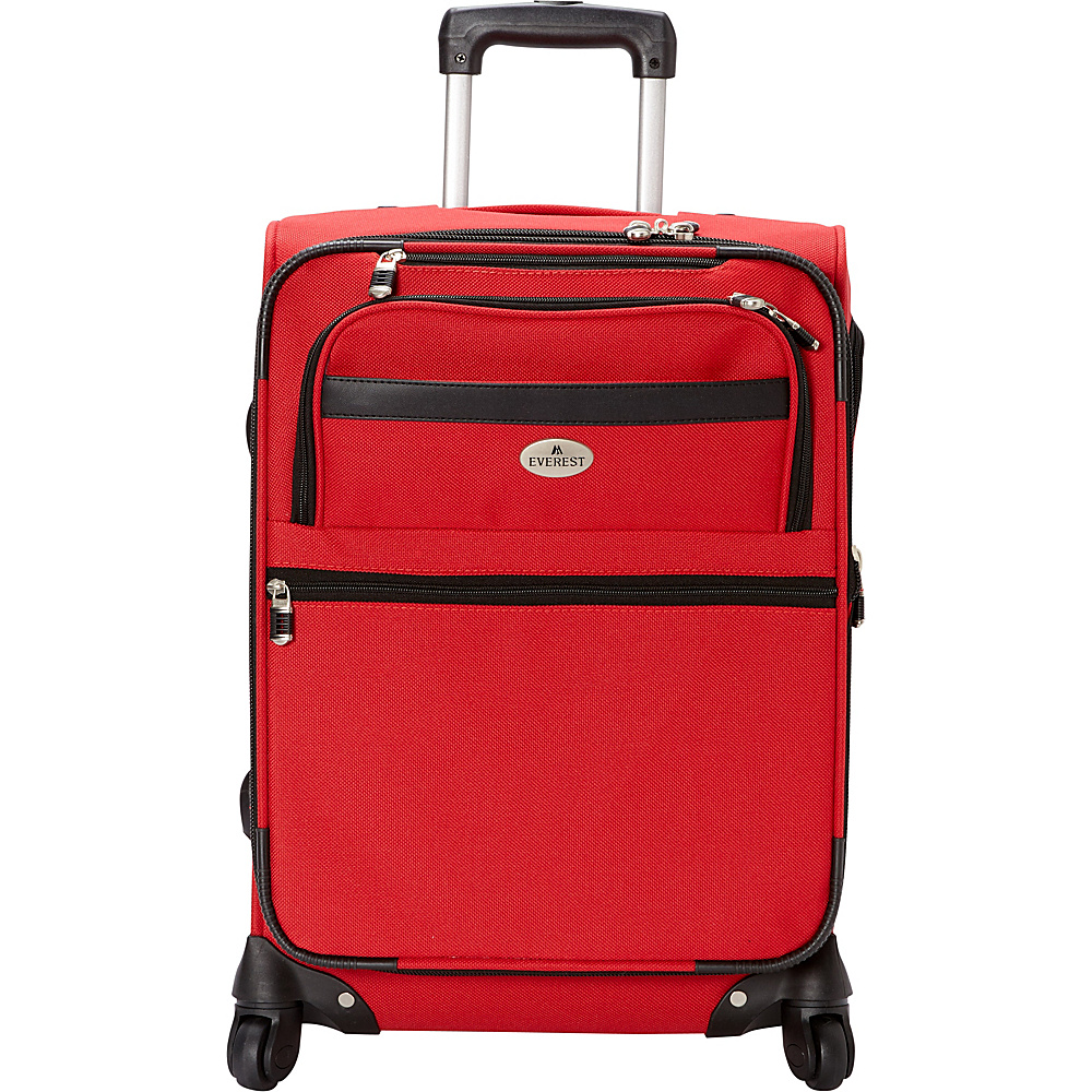 Everest 21 Expandable Carry-On Spinner Luggage Red - Everest Softside Carry-On - Luggage, Softside Carry-On