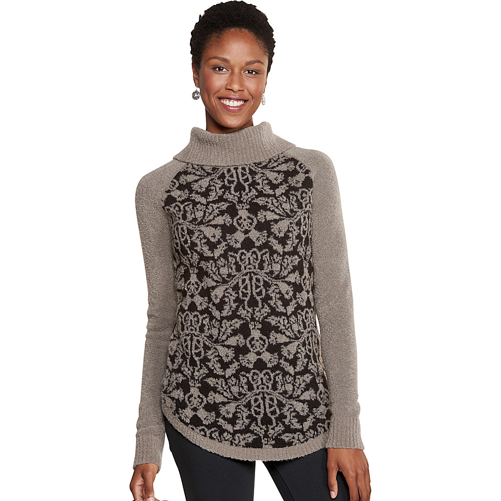 Toad & Co Lucianna T-Neck Sweater XS - Cocoa - Toad & Co Womens Apparel - Apparel & Footwear, Women's Apparel
