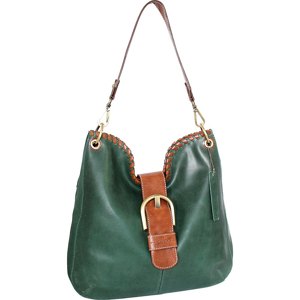 Nino Bossi Daelyn Shoulder Bag Moss - Nino Bossi Leather Handbags - Handbags, Leather Handbags