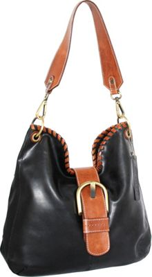 Nino Bossi Daelyn Shoulder Bag Black - Nino Bossi Leather Handbags