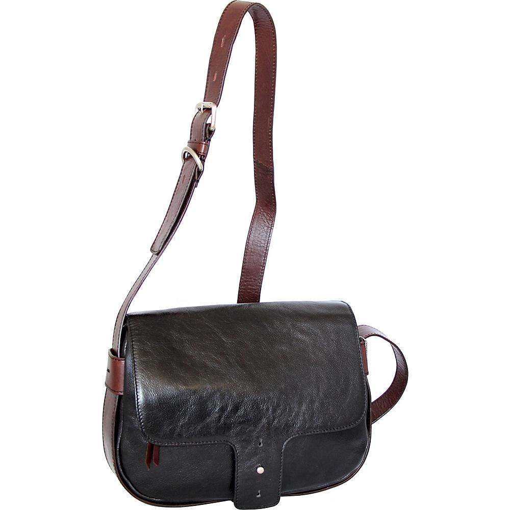 Nino Bossi Kalea Crossbody Black - Nino Bossi Leather Handbags - Handbags, Leather Handbags