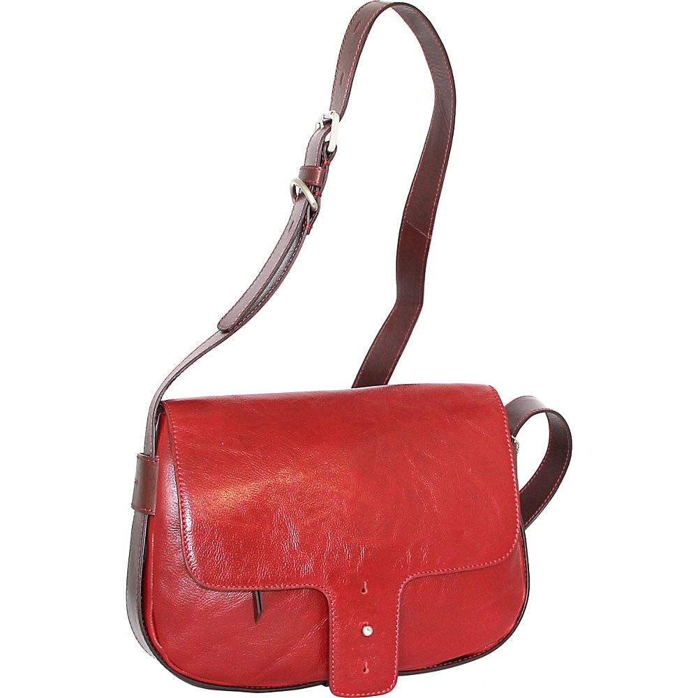 Nino Bossi Kalea Crossbody Red - Nino Bossi Leather Handbags - Handbags, Leather Handbags