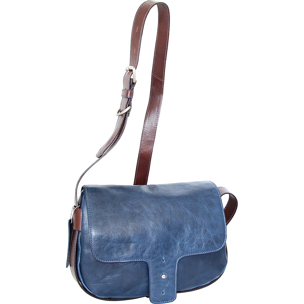 Nino Bossi Kalea Crossbody Blue - Nino Bossi Leather Handbags - Handbags, Leather Handbags