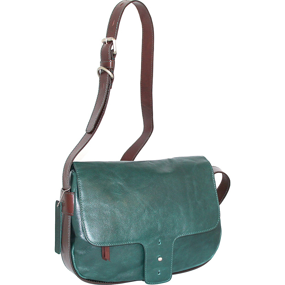 Nino Bossi Kalea Crossbody Green - Nino Bossi Leather Handbags - Handbags, Leather Handbags