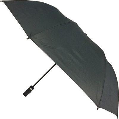 London Fog Umbrellas Jumbo Oversize Auto Open Umbrella Black - London Fog Umbrellas Umbrellas and Rain Gear