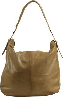 Day & Mood Oak Hobo Pale Khaki - Day & Mood Leather Handbags