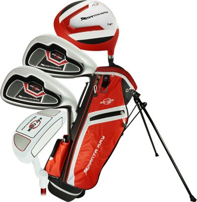 Ray Cook Golf Junior Manta Ray Golf 6 Piece Set with Bag Ages 6-8 - Left-Handed Red - Ray Cook Golf Golf Bags