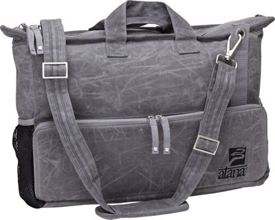 aTana Bags Day Tripper Messenger Bag Gray with Gray Topo - aTana Bags Messenger Bags