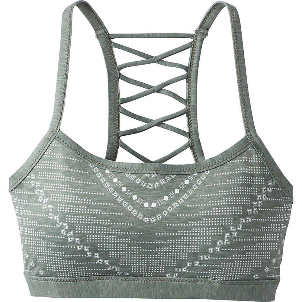 PrAna Isaline Bra XS - Forest Green Synergy - PrAna Womens Apparel - Apparel & Footwear, Women's Apparel