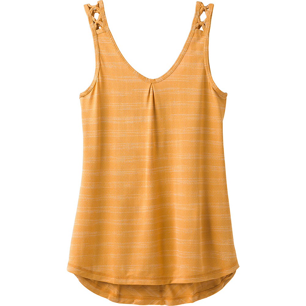 PrAna Serene Tank S - Golden Barrel - PrAna Womens Apparel - Apparel & Footwear, Women's Apparel