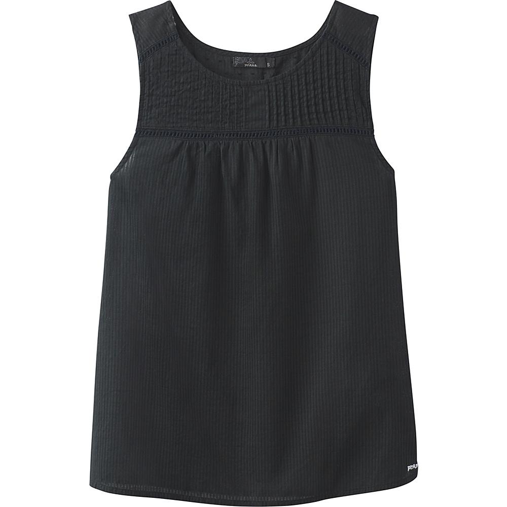 PrAna Thomasina Top L - Black - PrAna Womens Apparel - Apparel & Footwear, Women's Apparel
