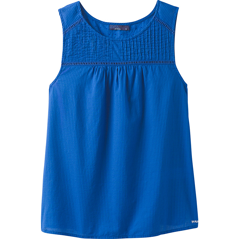 PrAna Thomasina Top XL - Island Blue - PrAna Womens Apparel - Apparel & Footwear, Women's Apparel