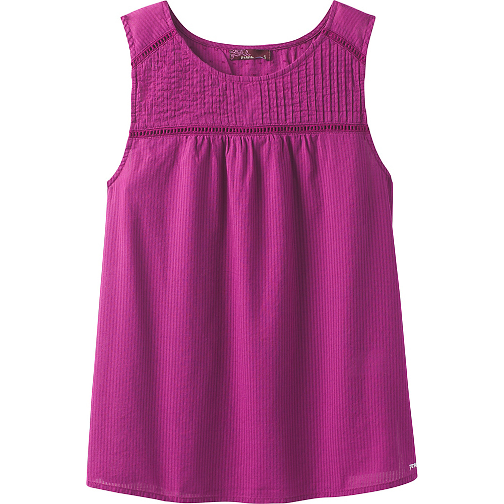 PrAna Thomasina Top L - Tyree Purple - PrAna Womens Apparel - Apparel & Footwear, Women's Apparel