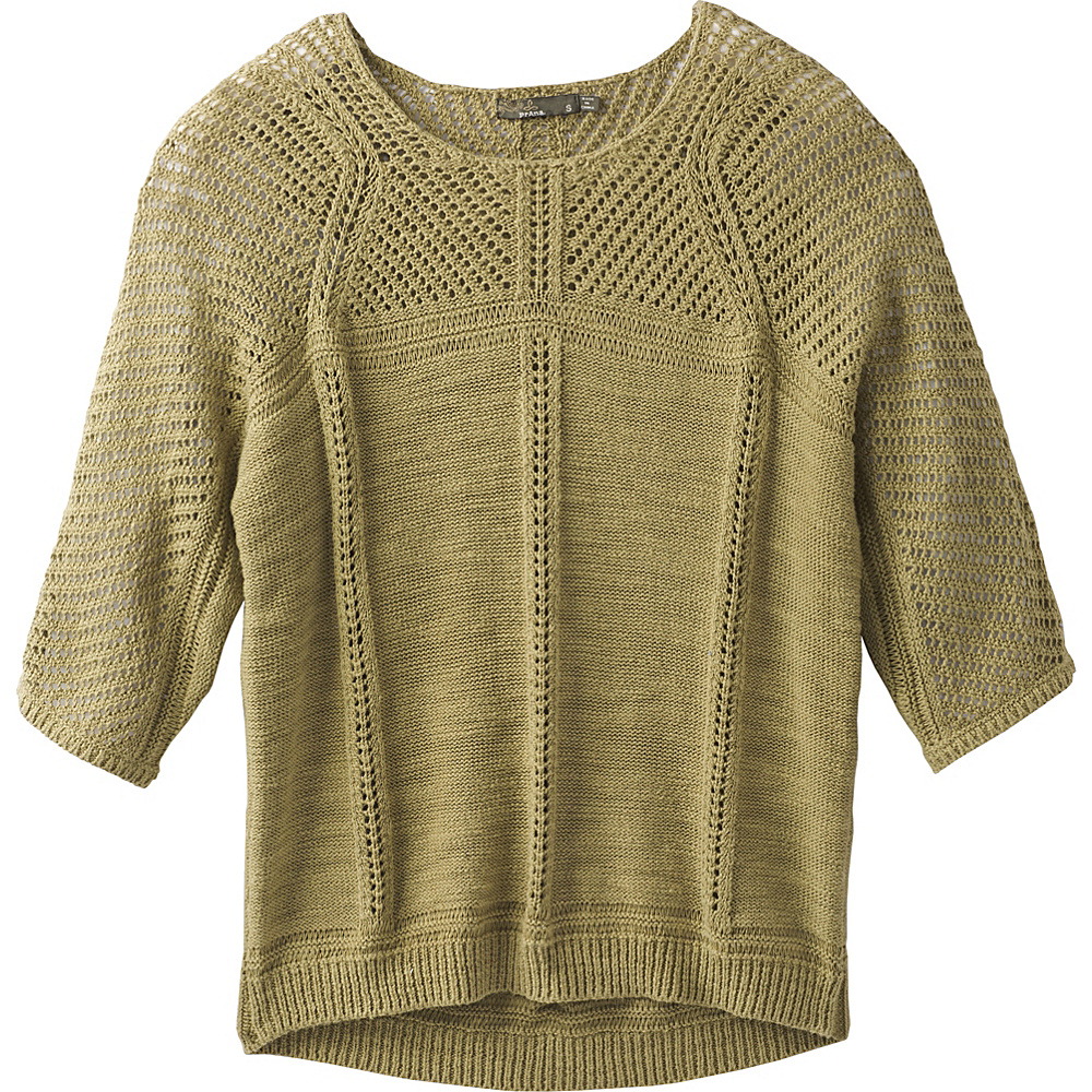 PrAna Getup Sweater XS - Field Green - PrAna Womens Apparel - Apparel & Footwear, Women's Apparel