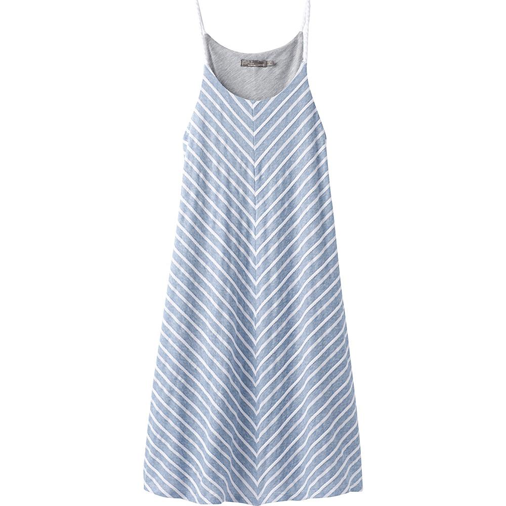 PrAna Seacoast Dress XS - Sunbleached Blue - PrAna Womens Apparel - Apparel & Footwear, Women's Apparel