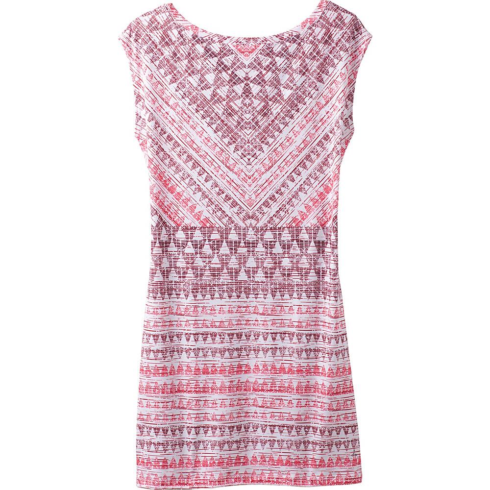 PrAna Sanna Dress S - Pink Arrowhead - PrAna Womens Apparel - Apparel & Footwear, Women's Apparel