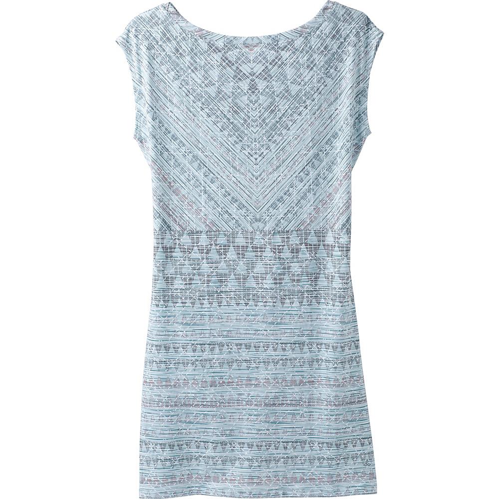PrAna Sanna Dress L - Seaside Grey Arrowhead - PrAna Womens Apparel - Apparel & Footwear, Women's Apparel