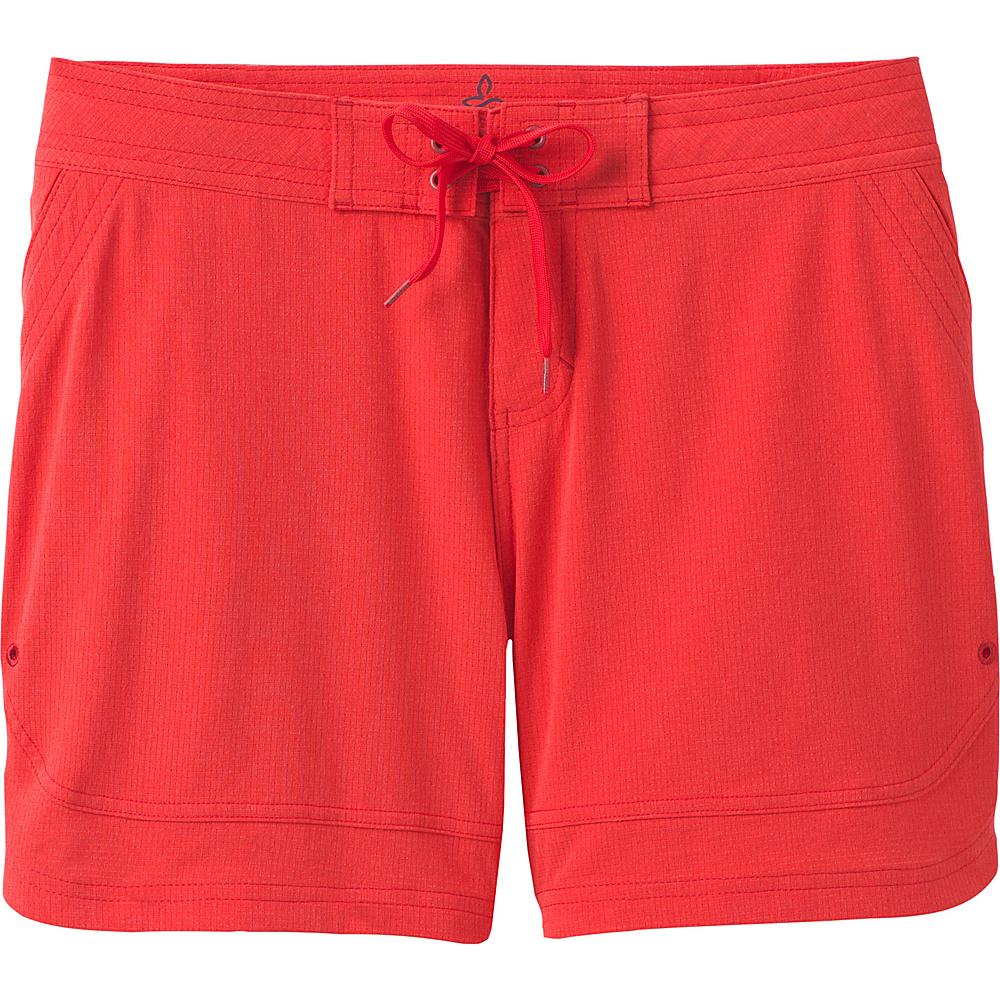 PrAna Ebelie Short XS - Carmine Pink - PrAna Womens Apparel - Apparel & Footwear, Women's Apparel