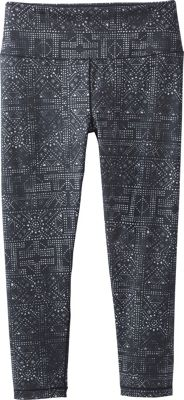 PrAna Pillar Printed Capri XL - Black Mosaic - PrAna Women's Apparel