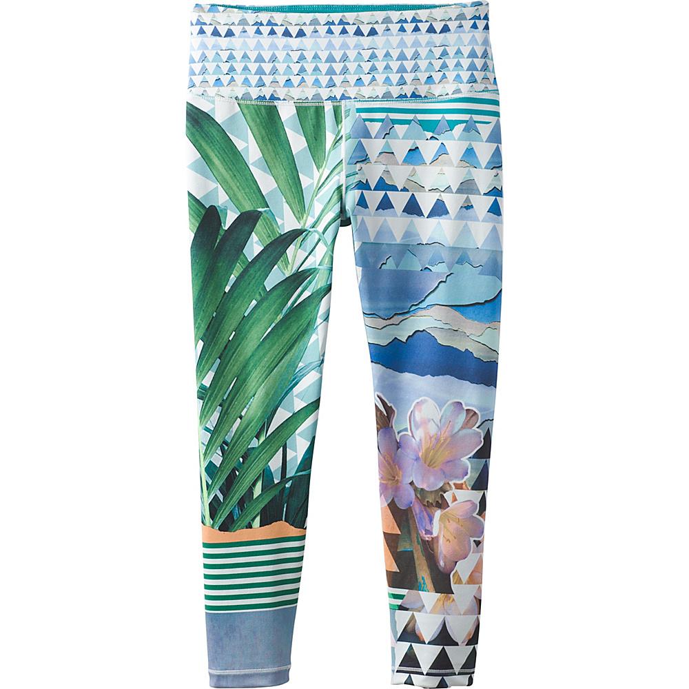PrAna Pillar Printed Capri S - Bluegrass Paradise - PrAna Womens Apparel - Apparel & Footwear, Women's Apparel