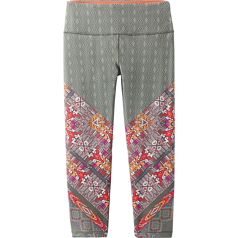 PrAna Pillar Printed Capri XS - Cargo Marrakesh - PrAna Womens Apparel - Apparel & Footwear, Women's Apparel