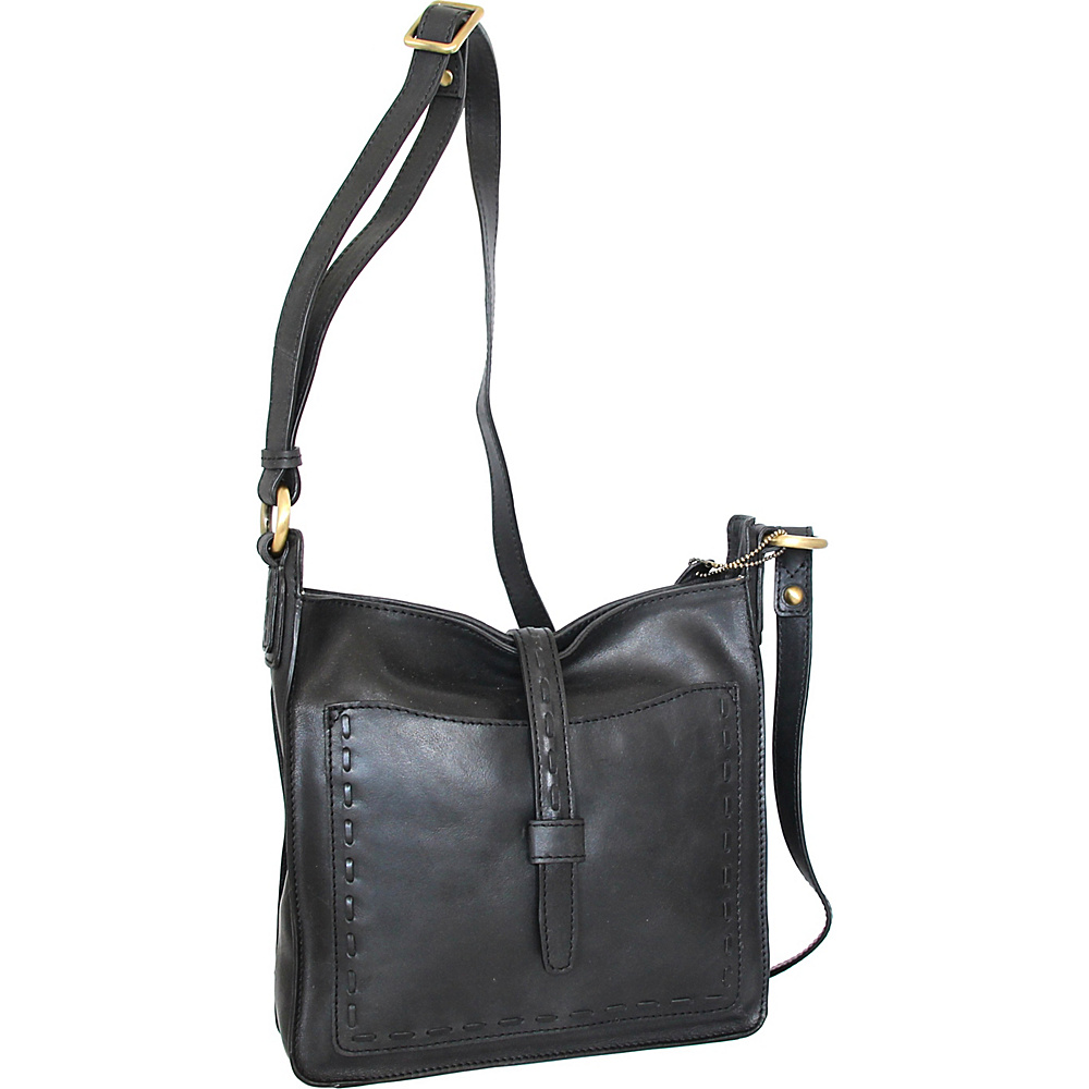 a7c72ae143 Nino Bossi Lainey Cross Body Bag Black - Nino Bossi Leather Handbags -  Handbags