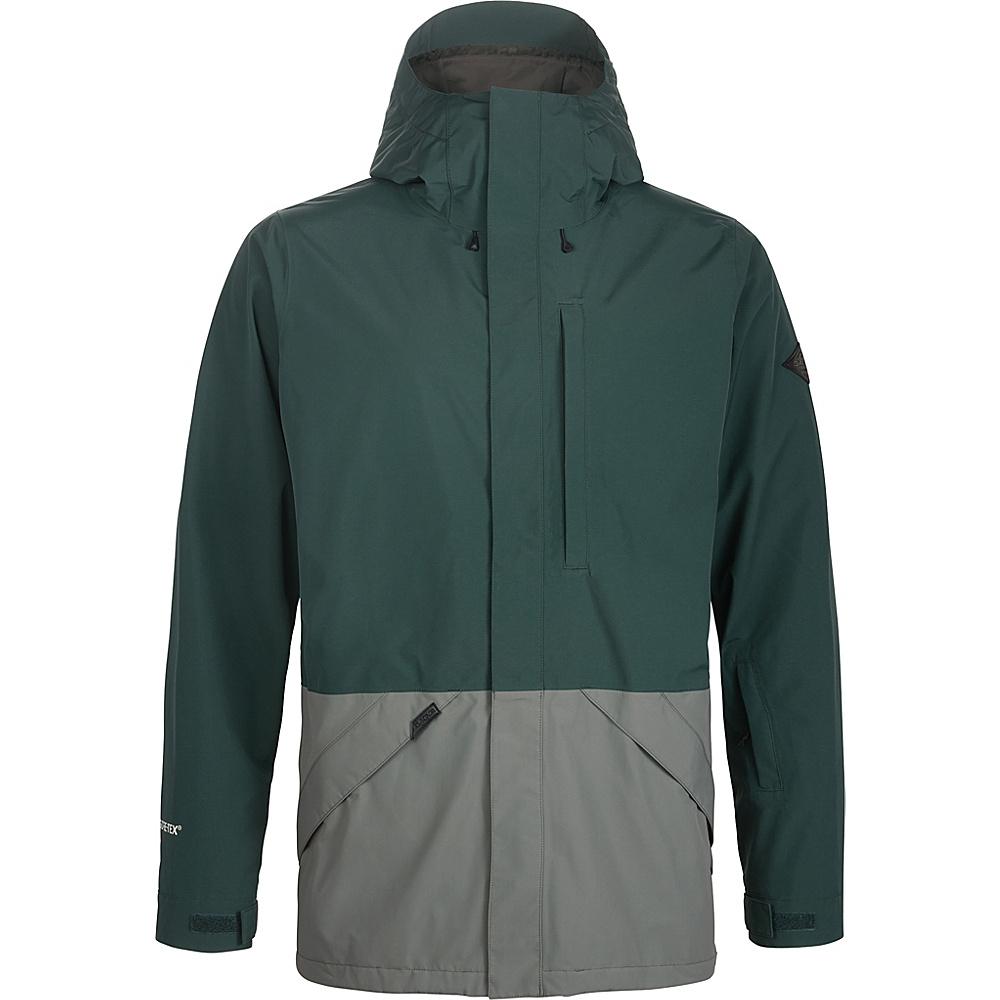 DAKINE Mens Smyth II 2L Jacket L - Indica Grn / Balsam Grn - DAKINE Mens Apparel - Apparel & Footwear, Men's Apparel