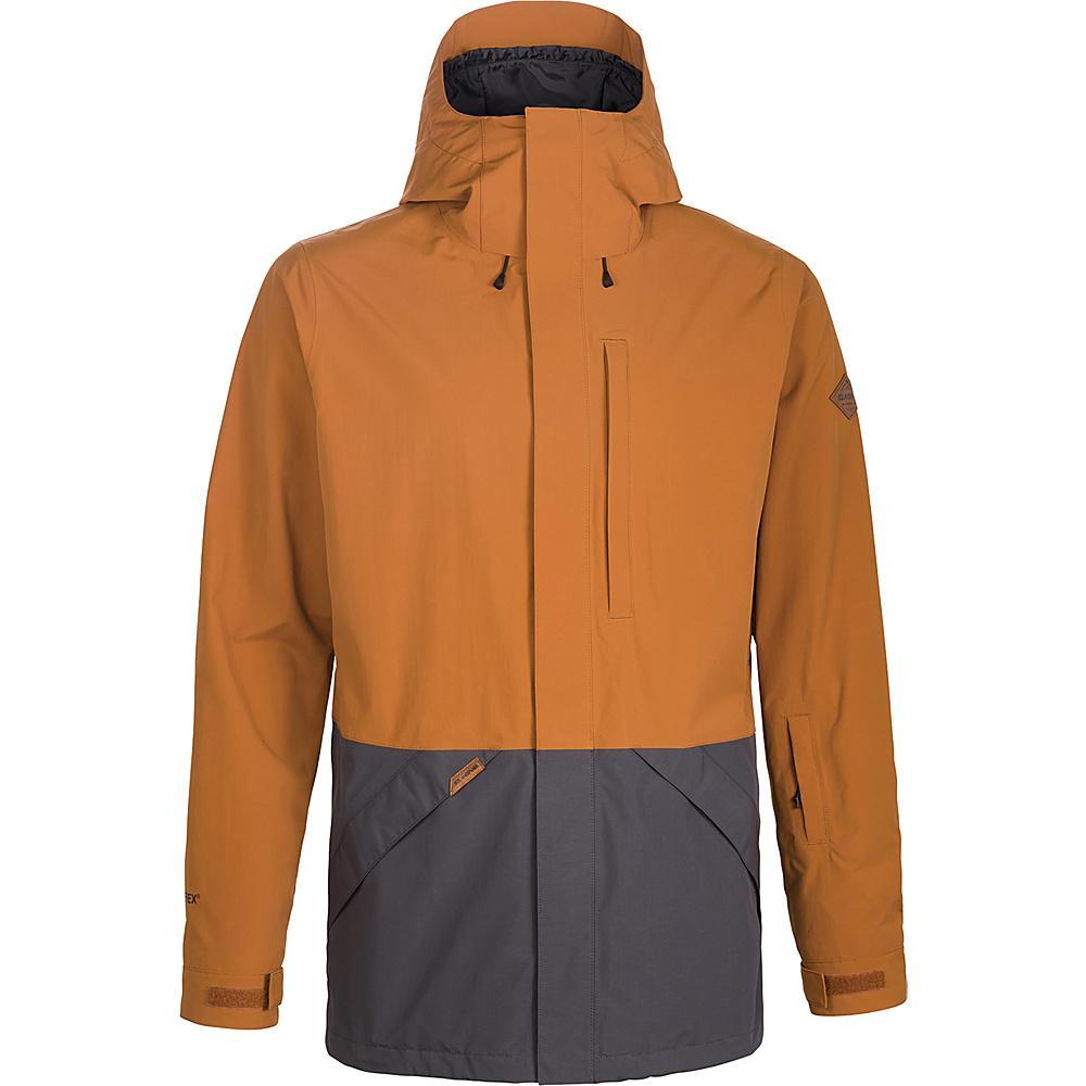 DAKINE Mens Smyth II 2L Jacket XL - Ginger / Shadow - DAKINE Mens Apparel - Apparel & Footwear, Men's Apparel