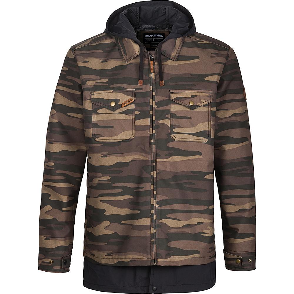 DAKINE Mens Sutherland Jacket XXL - Field Camo / Black - DAKINE Mens Apparel - Apparel & Footwear, Men's Apparel