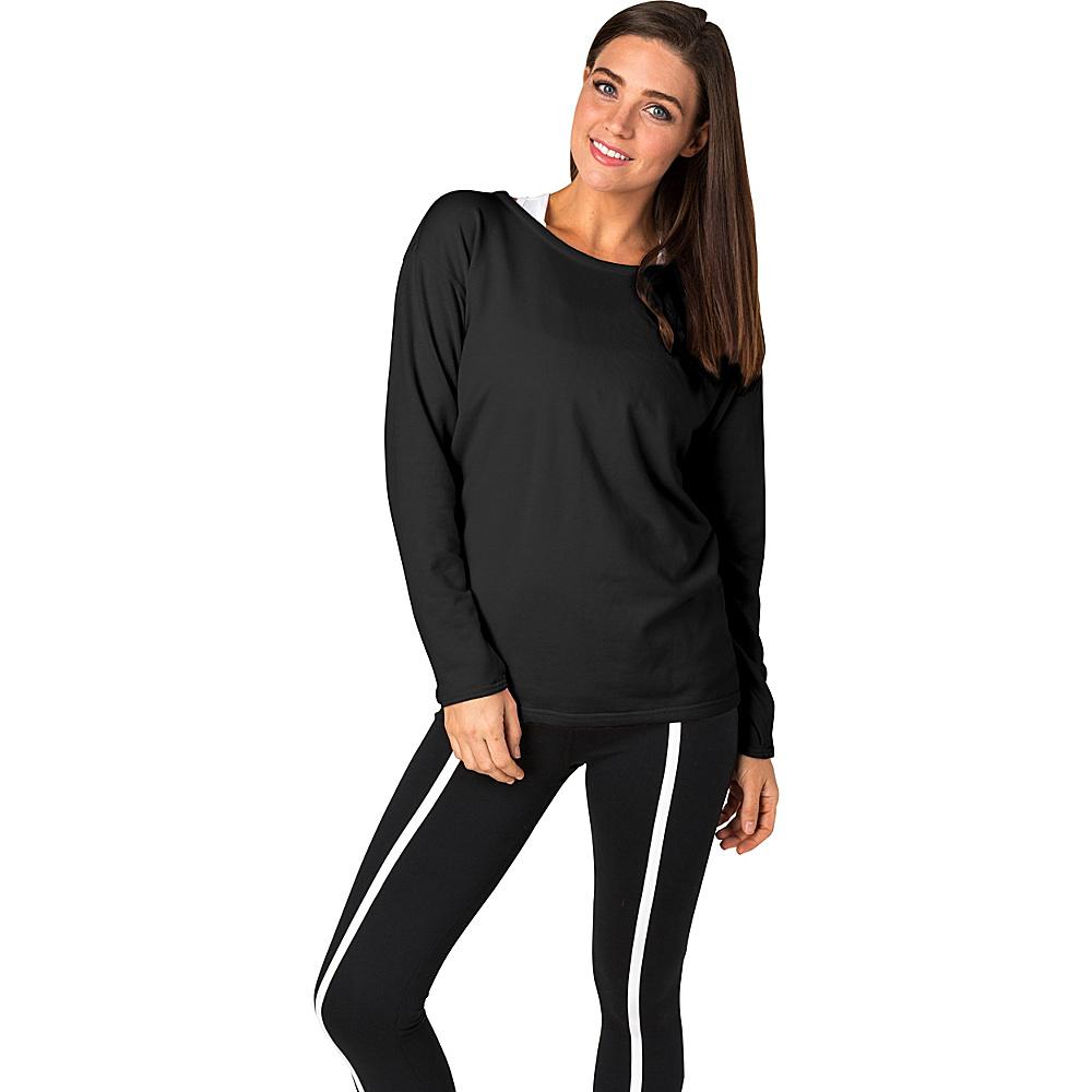 Soybu Womens Unity Pullover XS - Black - Soybu Womens Apparel - Apparel & Footwear, Women's Apparel