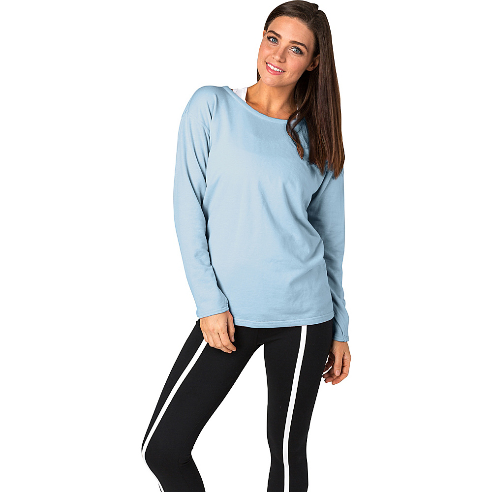 Soybu Womens Unity Pullover XL - Aero Blue - Soybu Womens Apparel - Apparel & Footwear, Women's Apparel