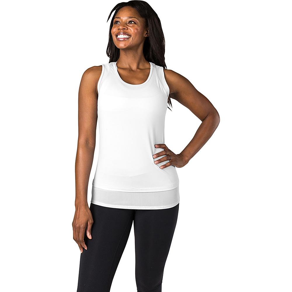 Soybu Womens Enlightened Tank XS - White - Soybu Womens Apparel - Apparel & Footwear, Women's Apparel