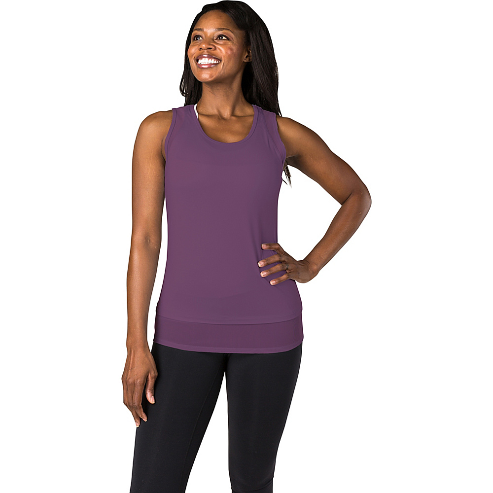 Soybu Womens Enlightened Tank L - Concord Grape - Soybu Womens Apparel - Apparel & Footwear, Women's Apparel