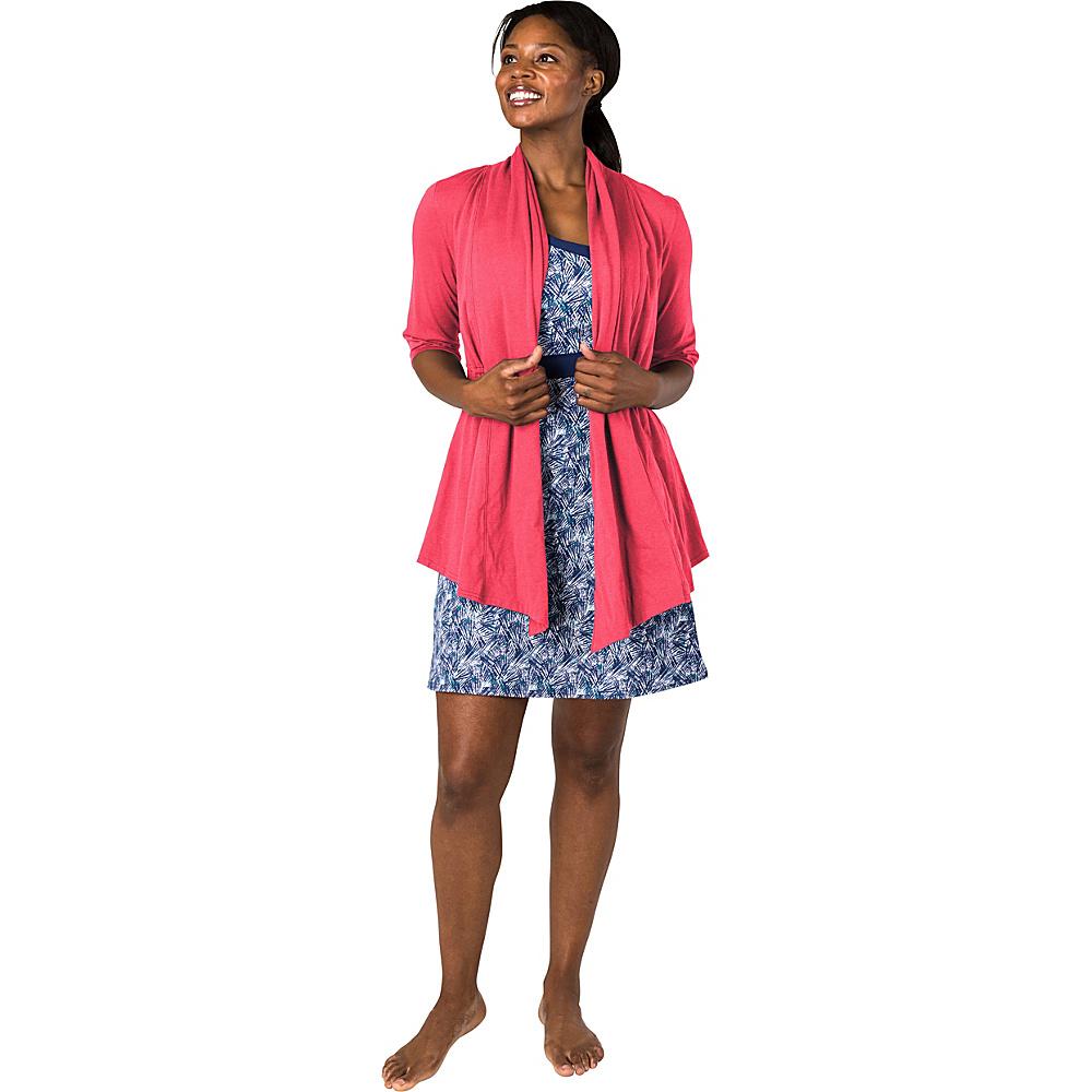 Soybu Cabana Cardi XS - Coral Fresca - Soybu Womens Apparel - Apparel & Footwear, Women's Apparel