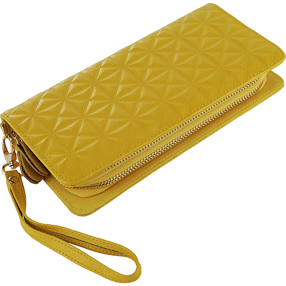 MKF Collection by Mia K. Farrow Marilyn Wristlet Wallet Yellow - MKF Collection by Mia K. Farrow Womens Wallets - Women's SLG, Women's Wallets