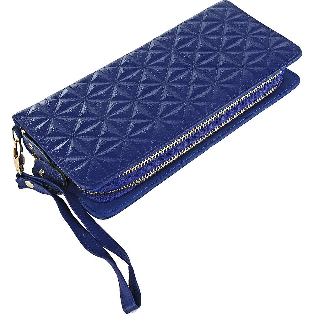 MKF Collection by Mia K. Farrow Marilyn Wristlet Wallet Blue - MKF Collection by Mia K. Farrow Womens Wallets - Women's SLG, Women's Wallets