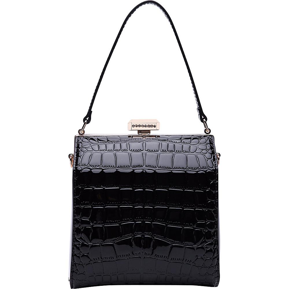 MKF Collection by Mia K. Farrow Fany Evening Crossbody Black - MKF Collection by Mia K. Farrow Manmade Handbags - Handbags, Manmade Handbags